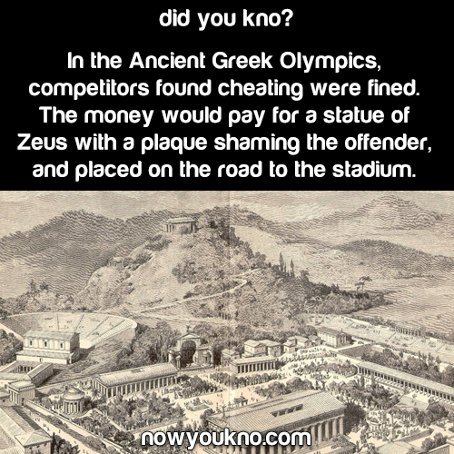 How the Ancient Greeks handled cheating at the Olympics