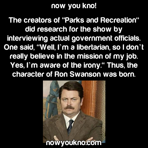 How Ron Swanson was born