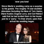 Steve Martin's surprise wedding