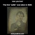 The First Selfie