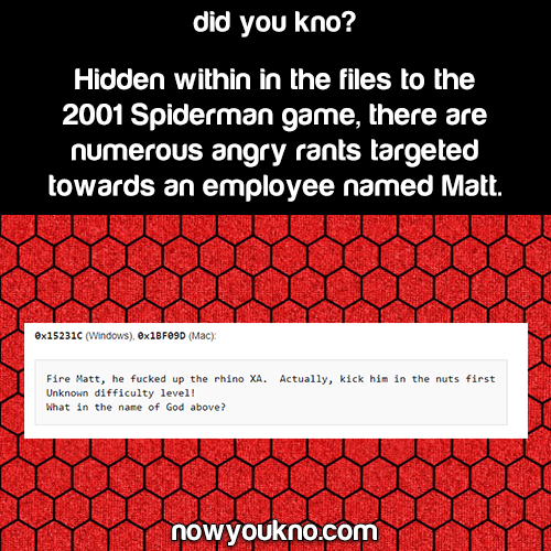 "The ""Matt"" Easter Eggs in Spider-Man 2001"