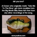 Al Green and the Big mouth Billy Bass fish