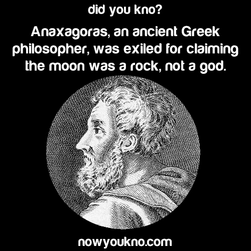 Anaxagoras and the moon