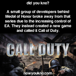 How Call of Duty came to be