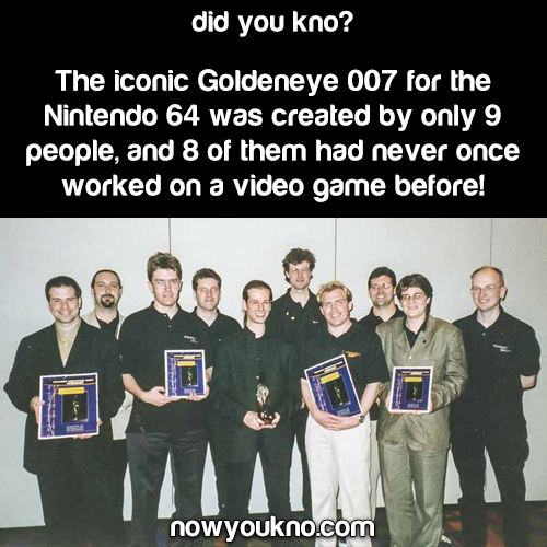 The team behind 'Goldeneye 007'