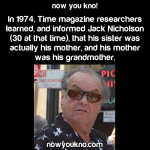 Jack Nicholson's Sister/Mother