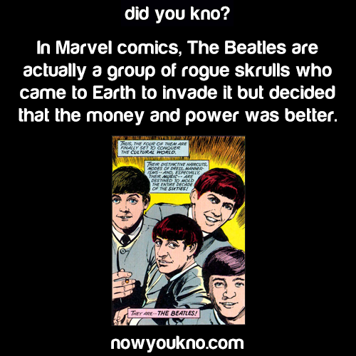 The Beatles in the Marvel Universe