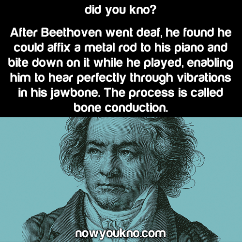 What Beethoven learned after he went deaf