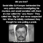 Serial killer befriended police investigating him