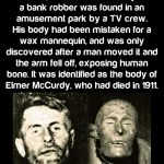 They thought his body was a mannequin