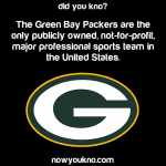 Green Bay Packers are not for profit