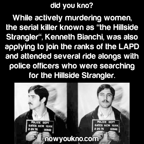 The Hillside Strangler helped police search for himself