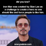 """Iron Man was once considered a """"minor character"""""""