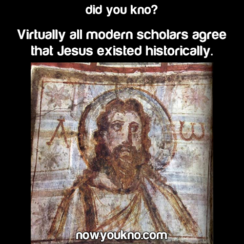 Jesus existed historically
