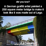 German Lego bridge