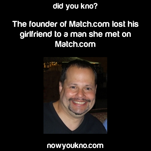Match.com founder lost his girlfriend on Match.com