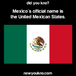 Mexico's official name
