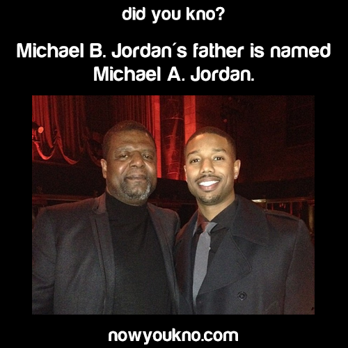 Michael B. Jordan's father's name