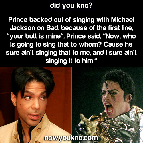 Why Prince refused to collab with MJ on 'Bad'