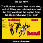 The story behind the Monkees movie title