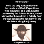 Remembering York the Explorer