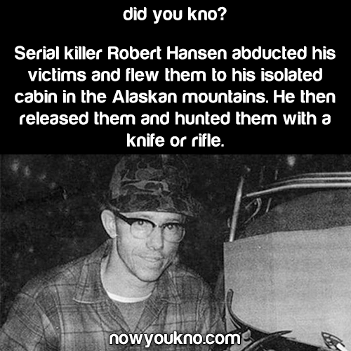 This serial killer hunted his victims (literally)